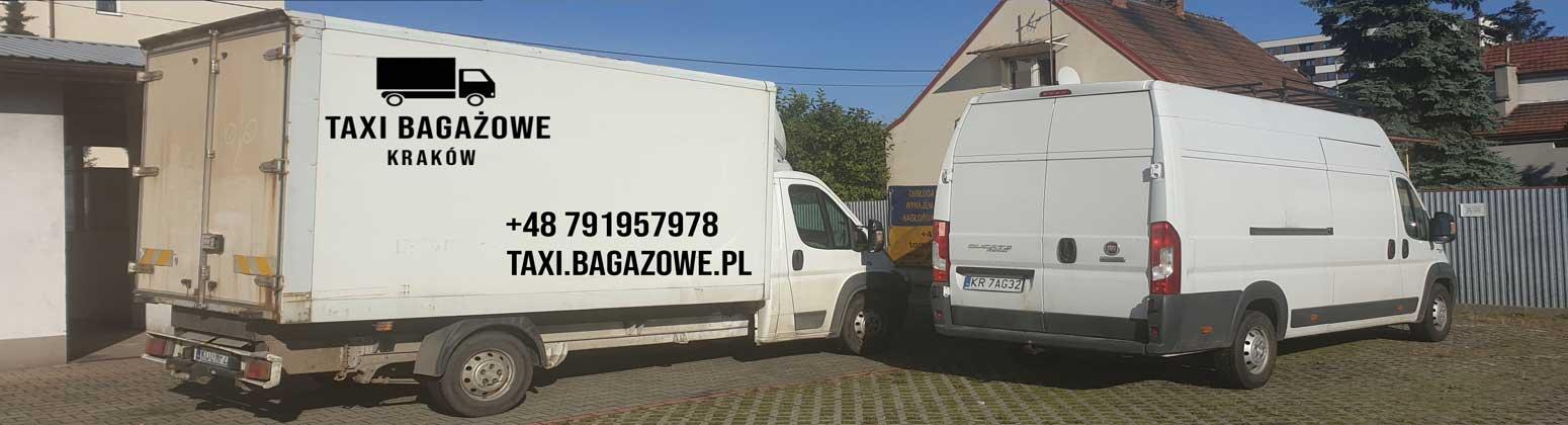 samochody taxi bagażowe Kraków